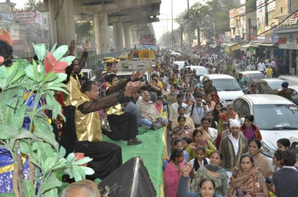 Rally in Banglore #Bail4Bapuji #Bapuji